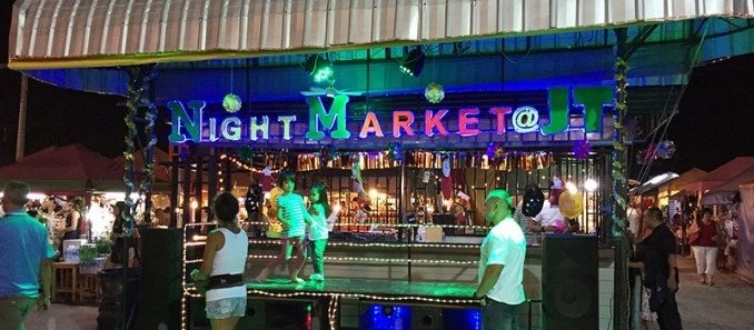 Jomtien Beach night market