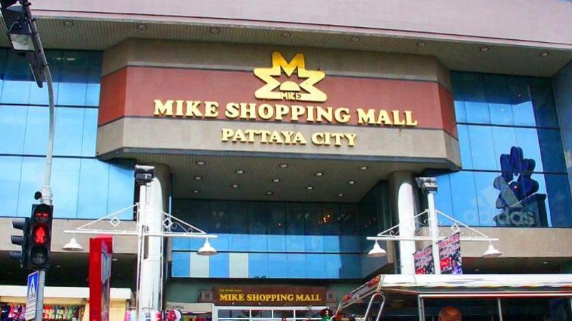 Mikes shopping mall Pattaya