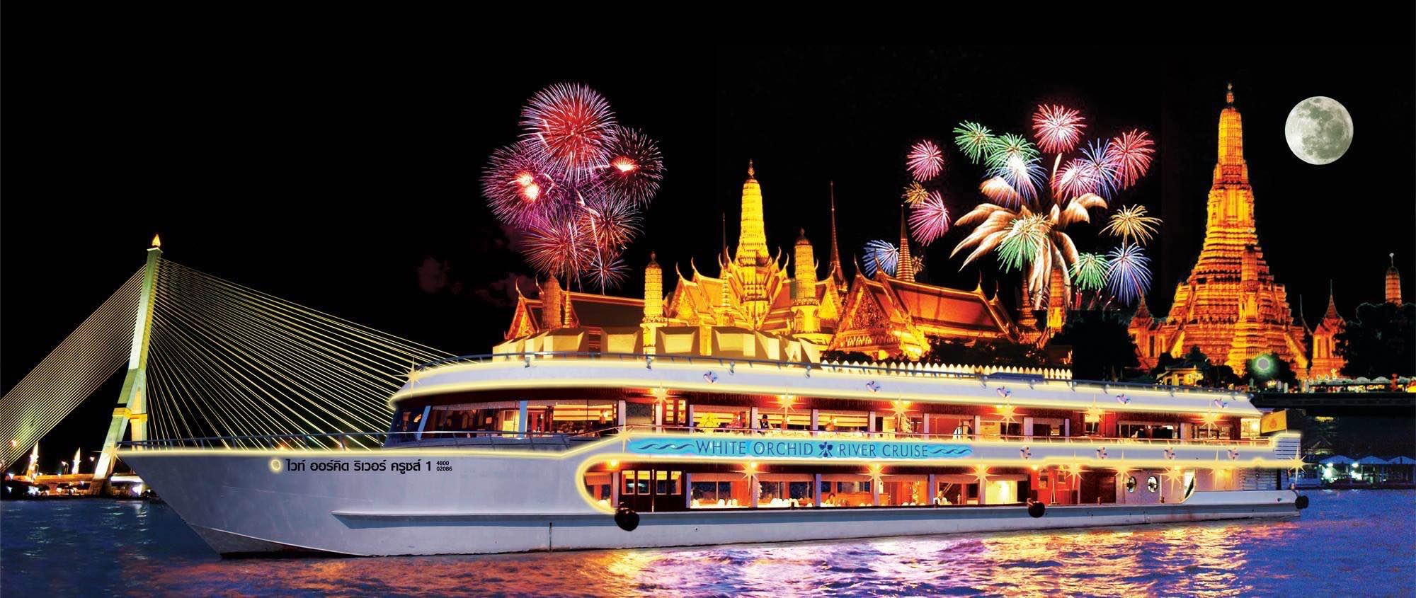Chao Phraya River cruise Bangkok