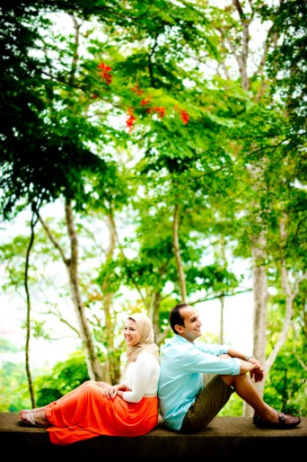 Yasmine and Mohamed's Rang Hill Viewpoint pre-wedding (prenuptial, engagement session) in Phuket, Thailand. Rang Hill Viewpoint_Phuket_wedding_photographer_Yasmine and Mohamed_06.JPG