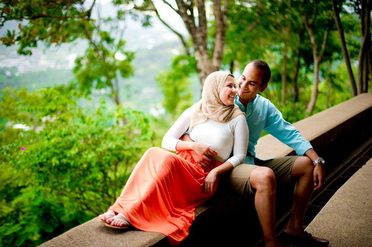 Thailand Phuket Engagement Session: Yasmine & Mohamed