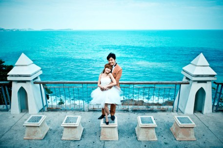 Thailand Koh Samui Lad Koh Viewpoint Wedding Photography | NET-Photography Thailand Wedding Photographer