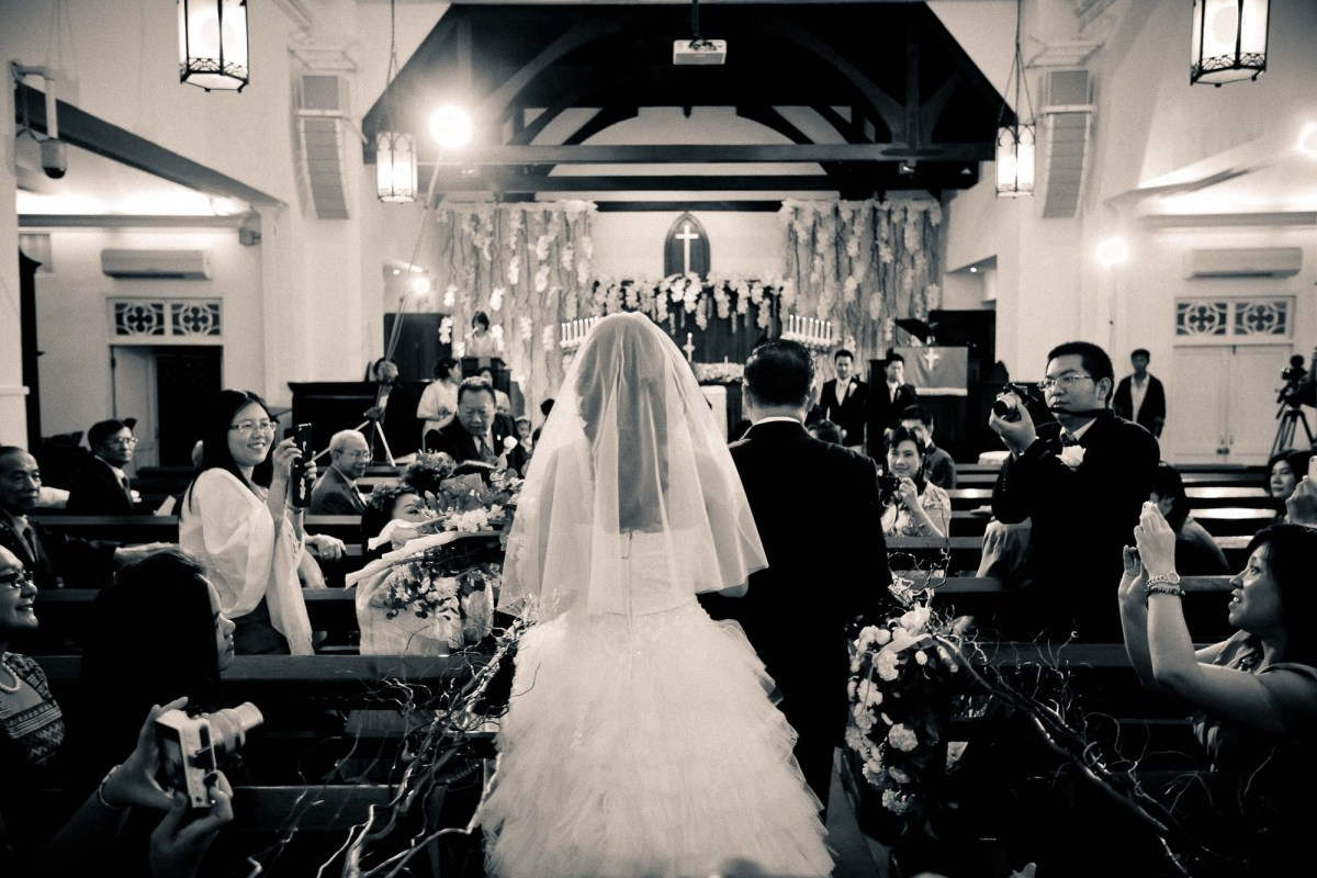 Thailand Bangkok Sueb Sampanthawong Church Wedding Photography