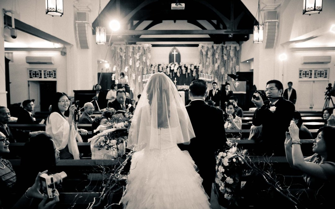 Photo of the Day: Church Wedding