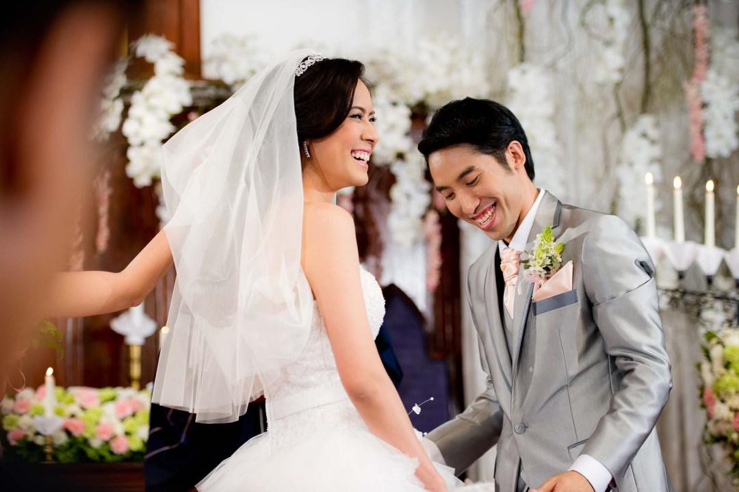 Thailand Bangkok Sueb Sampanthawong Church Wedding Photography | NET-Photography Thailand Wedding Photographer