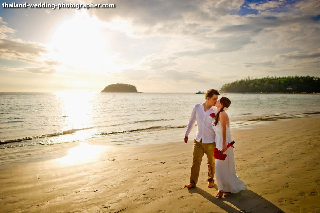Kata Beach Phuket Wedding Photography