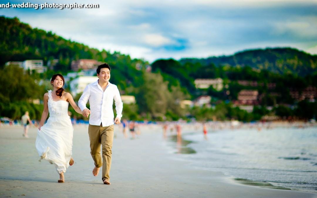 Photo of the Day: Happy Wedding Couple on Phuket Beach