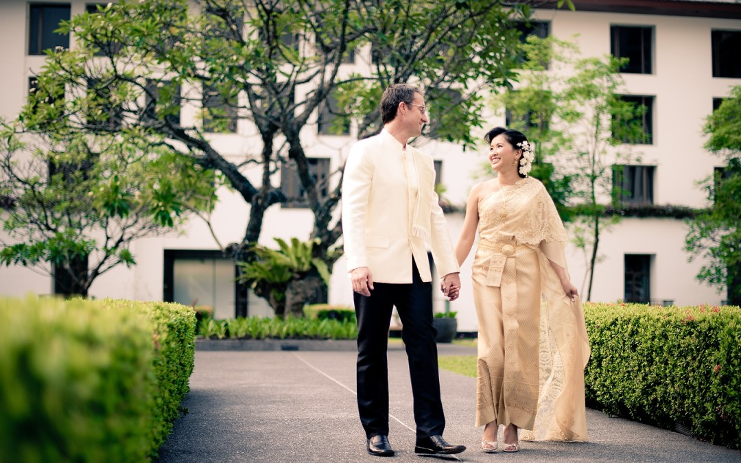 Bangkok Thailand Wedding Photography: Sukhothai Hotel