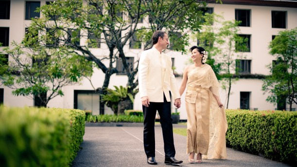 The Sukhothai Bangkok Wedding - Sukanya & Stephen