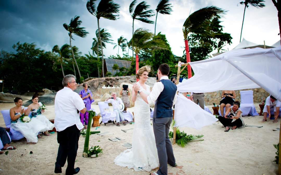 Koh Samui Thailand Wedding Photography: Beach Republic
