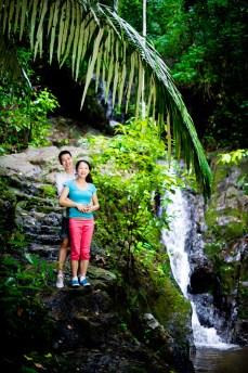 Ton Sai Waterfall - Thailand Wedding Photographer - Professional Wedding Photography Service