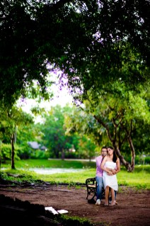 Rod Fai Park Bangkok Thailand Pre-Wedding