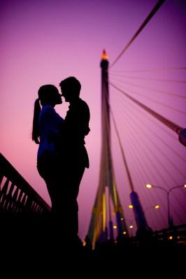 Rama VIII Bridge - Thailand Wedding Photographer - Professional Wedding Photography Service