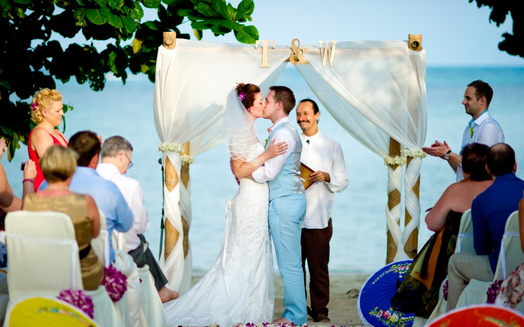 Koh Samui Thailand Wedding Photography: Amari Palm Reef