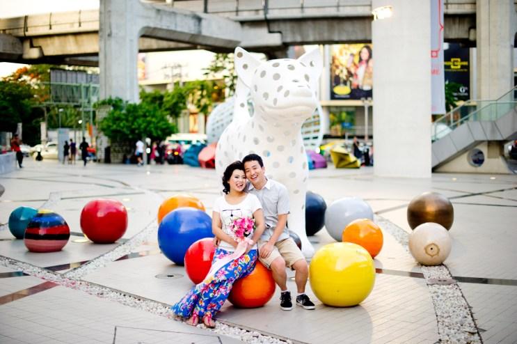 Siam Bangkok Thailand Pre-Wedding Photography