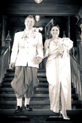 Traditional Thai engagement ceremony and wedding reception at Rose Garden Riverside (Sampran Riverside) in Nakhon Pathonm, Thailand. NET-Photography   Thailand Wedding Photographer info@thailand-wedding-photographer.com http://thailand-wedding-photographer.com