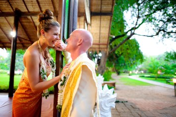 Destination wedding in Chiang Mai, Thailand The wedding couple was from Canada. NET-Photography | Thailand Wedding Photographer info@thailand-wedding-photographer.com http://thailand-wedding-photographer.com