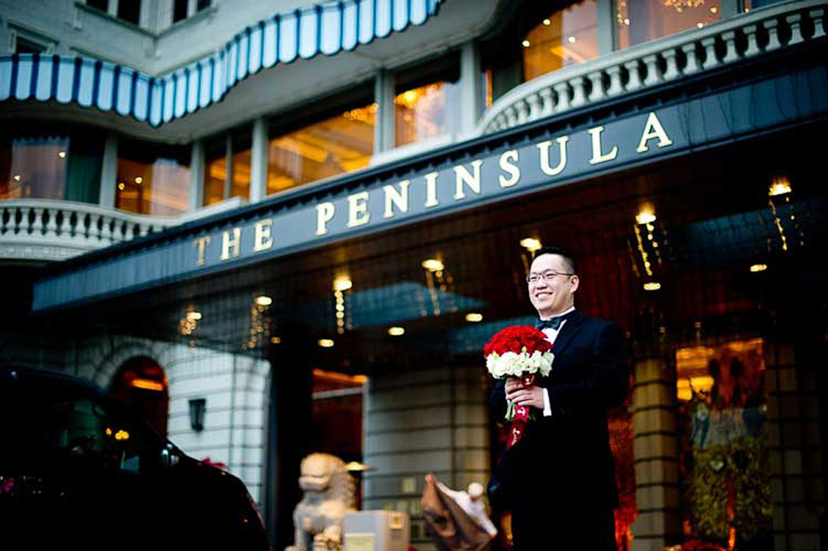 Hong Kong Wedding Photography: The Peninsula Hong Kong