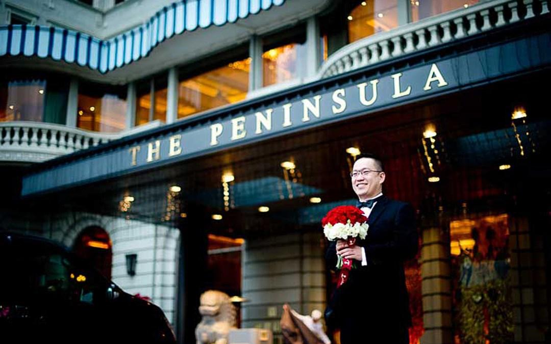 Hong Kong Wedding Photography: The Peninsula Hong Kong