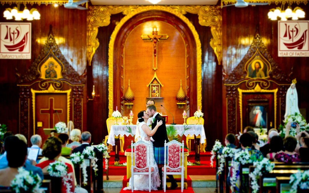 Preview: Wedding at Saint Nicolas Church in Pattaya Thailand