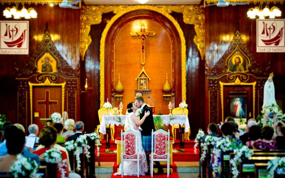 Preview: Wedding at Saint Nicolas Church in Pattaya Thailand