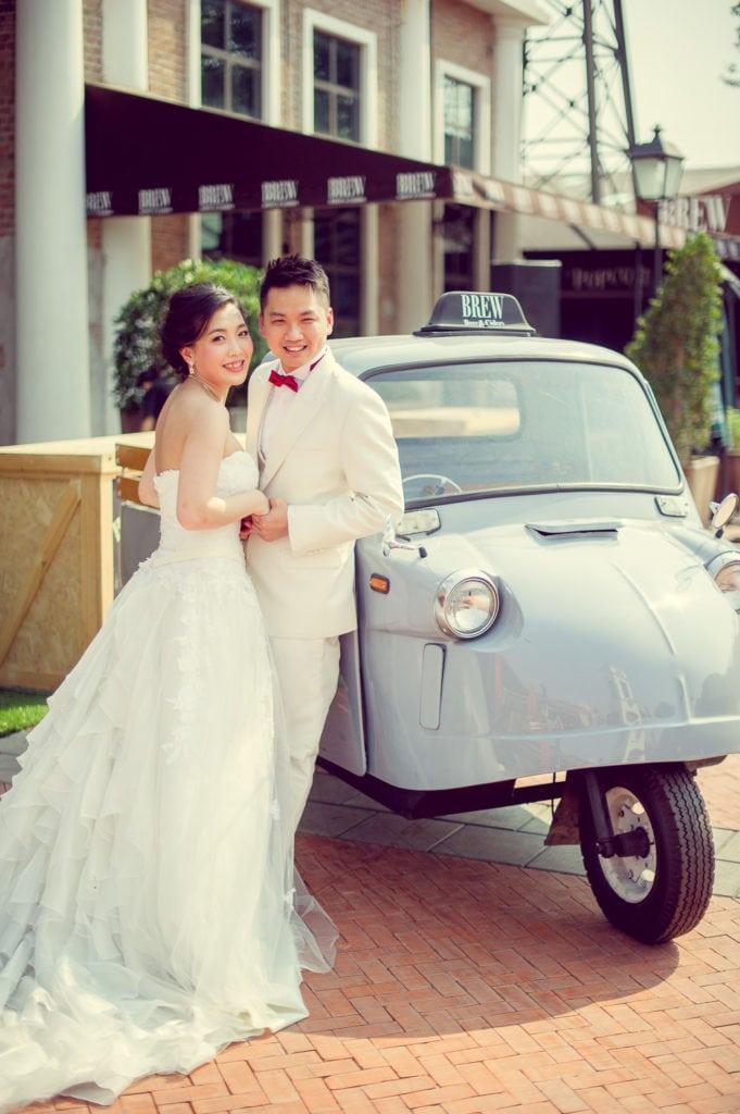 Asiatique Pre Wedding - Thailand Bangkok Wedding Photography