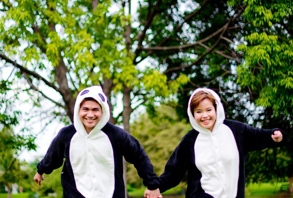Preview: Unusual Pre-Wedding at a Park in Bangkok Thailand