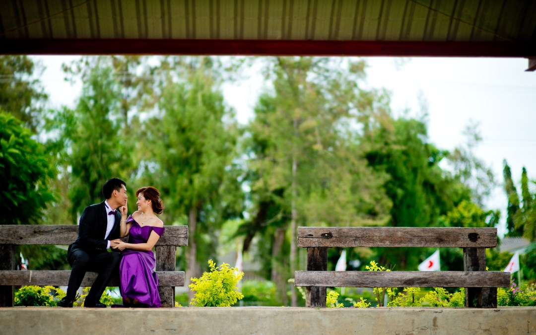Preview: Engagement Session at Hua Hin Railway Station