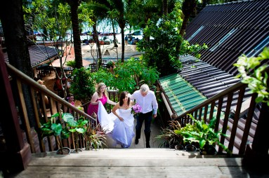 Pattaya, Thailand - Jaime & Krister's destination wedding at Rabbit Resort in Pattaya, Thailand.