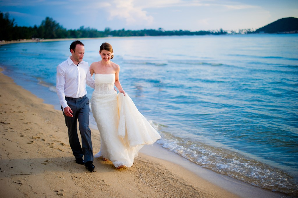 Lipa Lodge Resort Koh Samui Wedding - Yulia & David