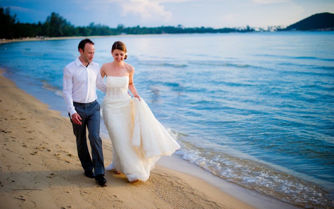 Dreams Villa Resort Koh Samui Thailand Wedding: Yulia & David