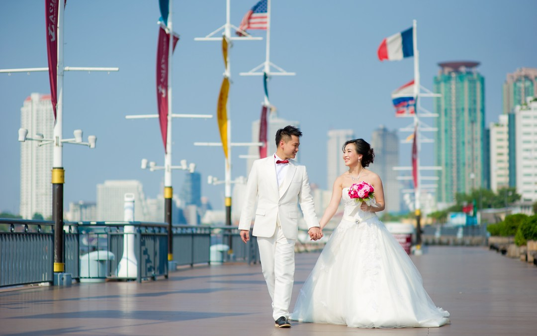 Photo of the Day: Asiatique The Riverfront Pre-Wedding
