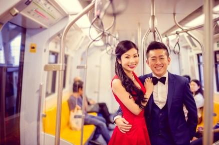 Cherlyn and Ben's BTS Siam pre-wedding (prenuptial, engagement session) in Bangkok, Thailand. BTS Siam_Bangkok_wedding_photographer__1286.TIF