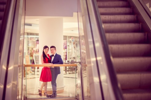Cherlyn and Ben's Bangkok Art & Culture Centre pre-wedding (prenuptial, engagement session) in Bangkok, Thailand. Bangkok Art & Culture Centre_Bangkok_wedding_photographer__1289.TIF