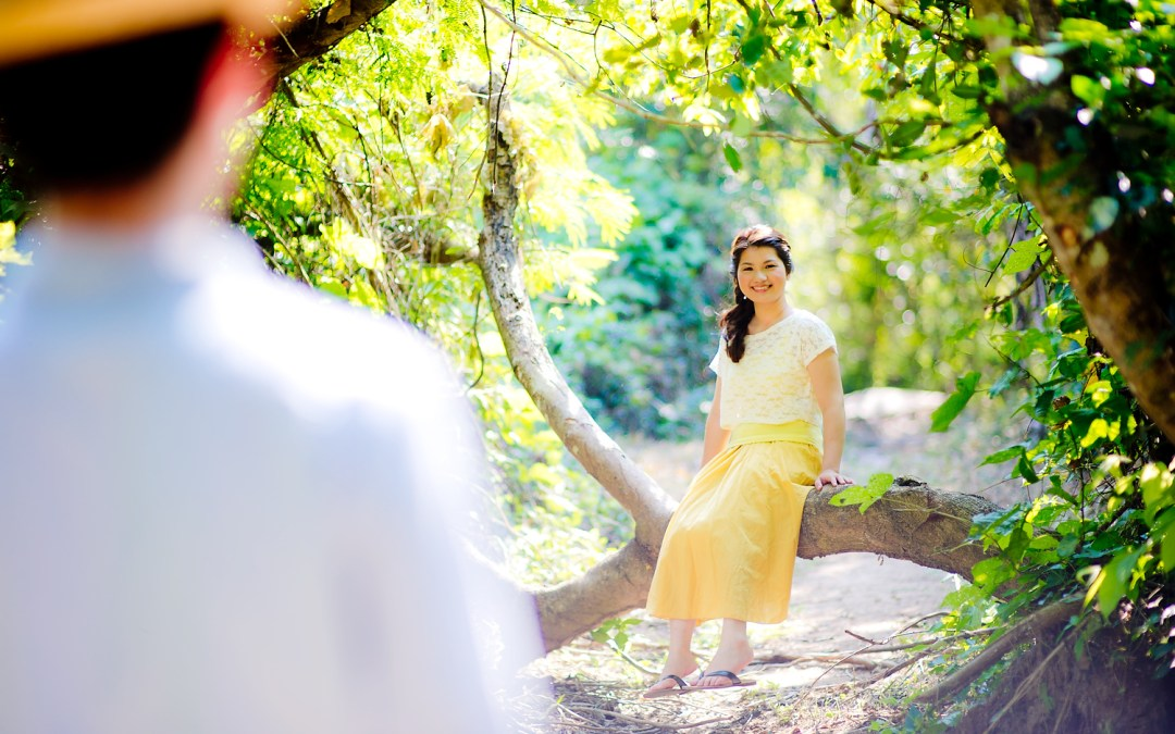 Photo of the Day: Saraburi Waterfall Pre-Wedding