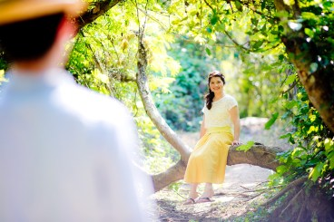 Waterfall Pre-Wedding | Thailand Saraburi Pre-Wedding Photography