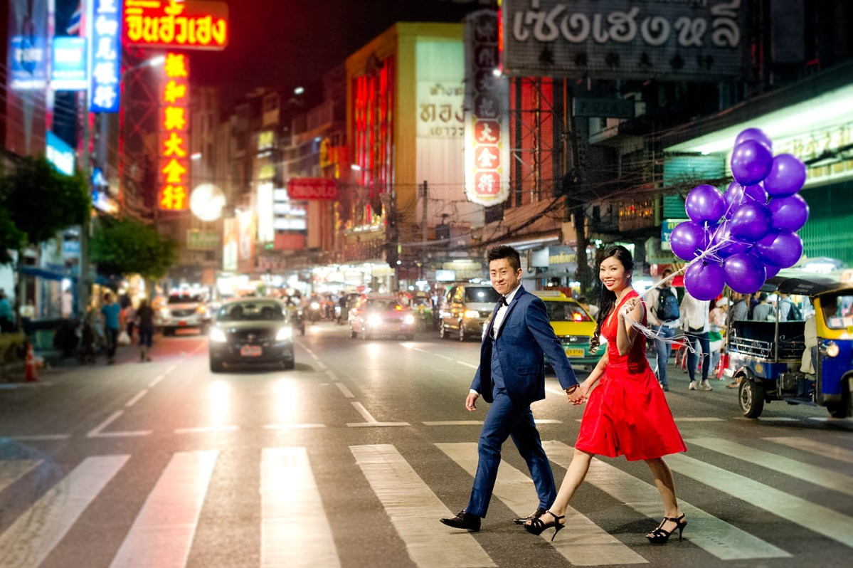 Cherlyn and Ben's Pre-Wedding (Engagement Session) in Bangkok