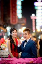 Cherlyn and Ben's China Town pre-wedding (prenuptial, engagement session) in Bangkok, Thailand. China Town_Bangkok_wedding_photographer__1305.TIF