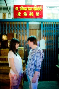 Tatiana and Alex's China Town pre-wedding (prenuptial, engagement session) in Bangkok, Thailand. China Town_Bangkok_wedding_photographer__1369.TIF