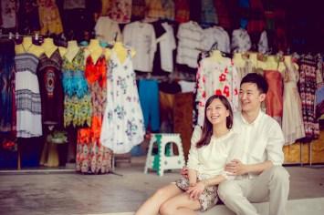 Yuchen and Wenquan's Damnoen Saduak Floating Market pre-wedding (prenuptial, engagement session) in Ratchaburi , Thailand. Damnoen Saduak Floating Market_Ratchaburi _wedding_photographer_Yuchen and Wenquan_0352.TIF