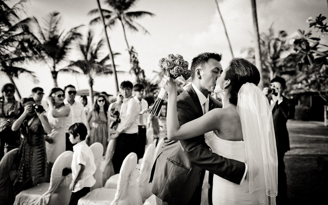 Destination wedding at InterContinental Samui Baan Taling Ngam Resort Koh Samui