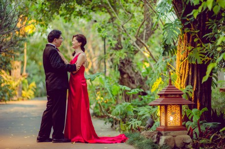 Karen and Billy's Khum Phaya Resort and Spa Centara Boutique Collection pre-wedding (prenuptial, engagement session) in Chiang Mai, Thailand. Khum Phaya Resort and Spa Centara Boutique Collection_Chiang Mai_wedding_photographer_Karen and Billy_2234.TIF