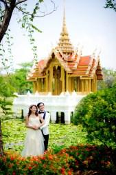 Loh and Jason's King Rama IX Park pre-wedding (prenuptial, engagement session) in Bangkok, Thailand. King Rama IX Park_Bangkok_wedding_photographer_Loh and Jason_1804.TIF