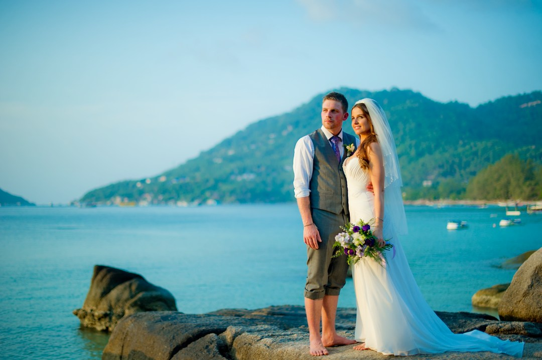 Koh Tao Beach Wedding - Ko Tao Wedding Photographer