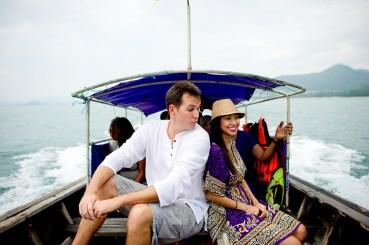 Tarinee and Dyson's Railay Beach pre-wedding (prenuptial, engagement session) in Krabi, Thailand. Railay Beach_Krabi_wedding_photographer_Tarinee and Dyson_1862.TIF