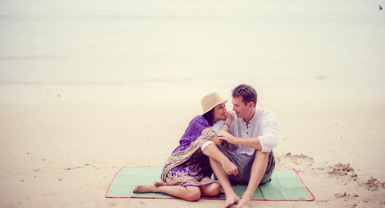 Tarinee and Dyson's Railay Beach pre-wedding (prenuptial, engagement session) in Krabi, Thailand. Railay Beach_Krabi_wedding_photographer_Tarinee and Dyson_1878.TIF