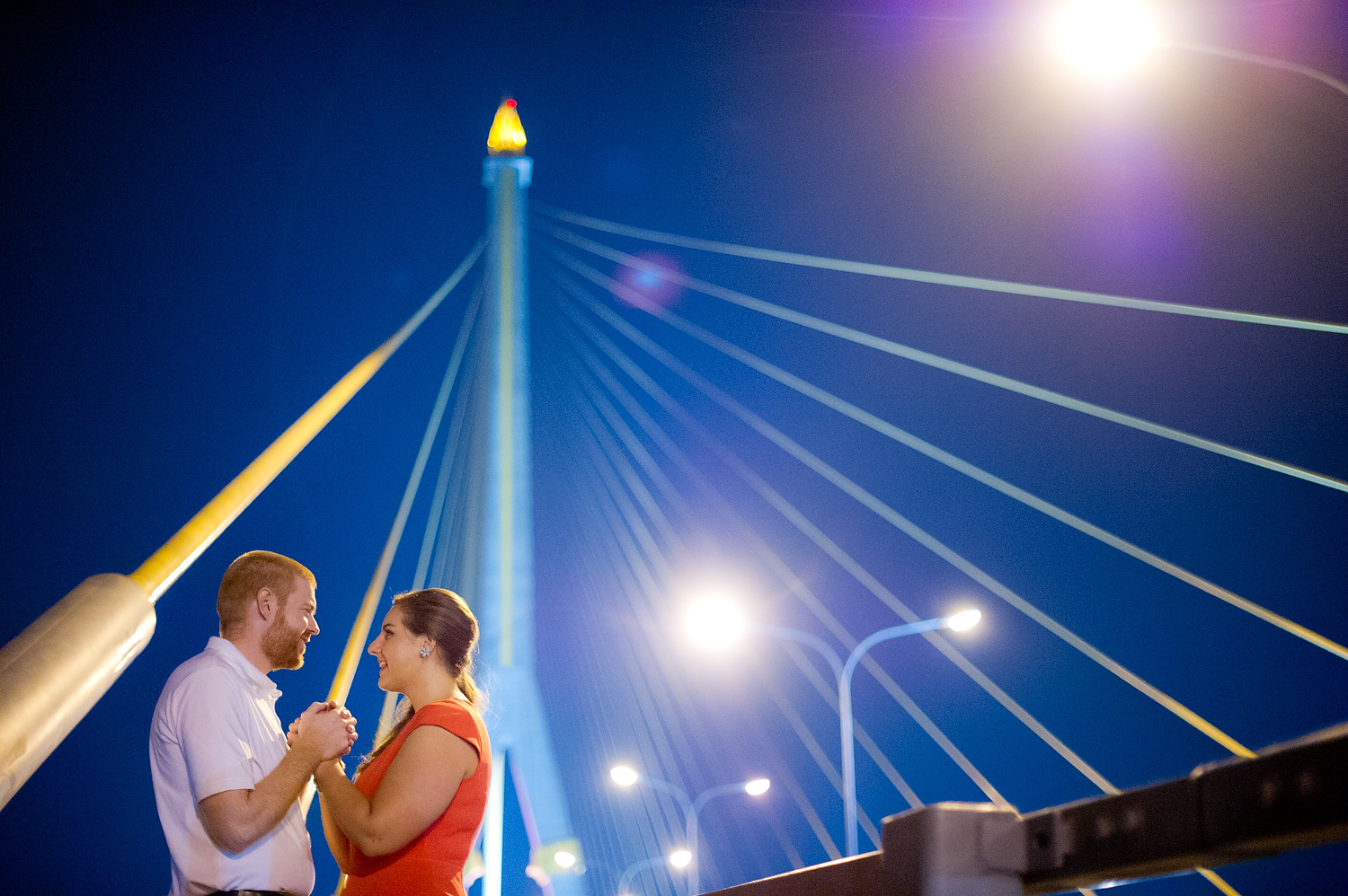 Photo of the Day: Engagement Session on Rama VIII Bridge Bangkok