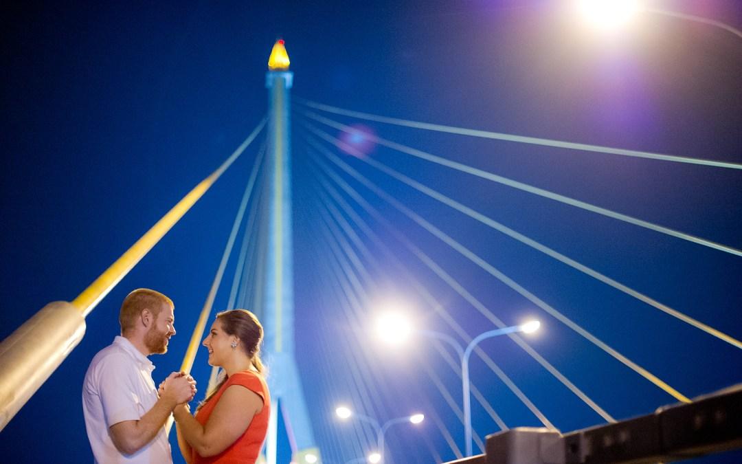 Photo of the Day: Engagement Session on Rama VIII Bridge Bangkok
