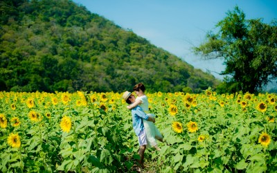 Saraburi Pre-Wedding: Yuen and Chan from Hong Kong