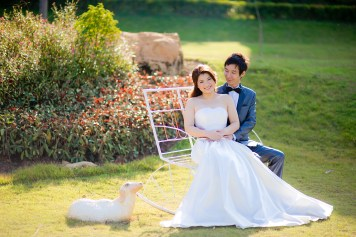 Yuen and Chan's The Buda Muaklek Resort pre-wedding (prenuptial, engagement session) in Saraburi, Thailand. The Buda Muaklek Resort_Saraburi_wedding_photographer_Yuen and Chan_1987.TIF